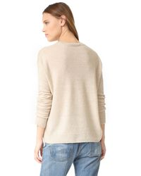 Vince - Multicolor Boxy Sweater - Lyst