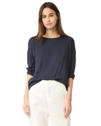 VINCE | Multicolor Relaxed Crew Neck Tee | Lyst