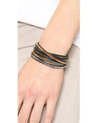 Vita Fede - Black Capri 5 Wrap Bracelet - Lyst