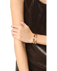 Vita Fede - Multicolor Mini Titan Stone Crystal Line Bracelet - Lyst