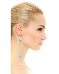 Vanessa Mooney - Metallic Charlize Earrings - Lyst