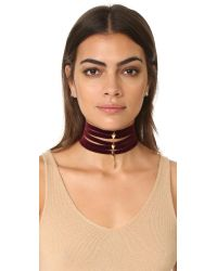 Vanessa Mooney - Multicolor The Delilah Choker Necklace - Lyst