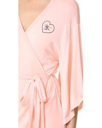 Wildfox - Pink Kimono Robe - Lyst