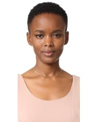 Jennifer Zeuner - Metallic Luelle Diamond Choker Necklace - Lyst