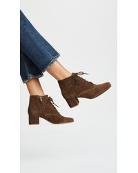 Madewell - Brown Macey Lace Up Boots - Lyst