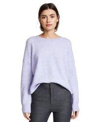 Scotch & Soda - Purple Soft Pullover Sweater - Lyst