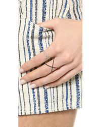 EF Collection | Yellow Diamond Love Ring | Lyst