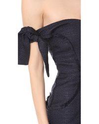 Misha Collection - Blue Dahlia Dress - Lyst