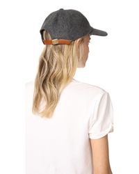 Madewell - Multicolor Wool Blend Baseball Hat - Lyst