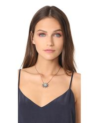 Maha Lozi | Metallic Star Necklace | Lyst