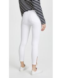 Etienne Marcel White Skinny Jeans With Zip