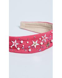 NAMJOSH - Pink Celestial Headband - Lyst