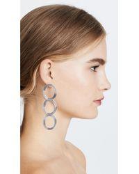 Pamela Love - Metallic Helene Drop Earrings - Lyst
