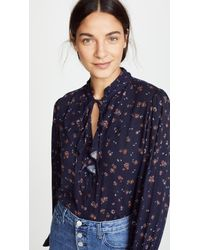AG Jeans - Blue Celeste Blouse - Lyst
