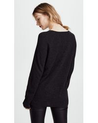 Equipment - Gray Asher V-neck Sweater - Lyst