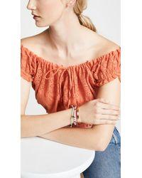 Shashi - Pink Tilu Bracelet - Lyst