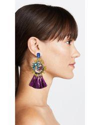 Elizabeth Cole - Multicolor New Year Earrings - Lyst