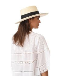 Artesano - Natural Polo Double Cord Hat - Lyst