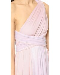Twobirds - Pink Ombre Tulle Ballgown - Lyst
