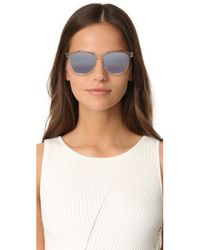 Marc Jacobs - Blue Translucent Mirrored Sunglasses - Lyst