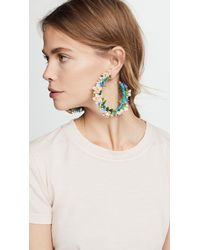 Mercedes Salazar - Multicolor Summer Breeze Hoop Earrings - Lyst