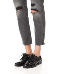 Ash - Blue Wilco Studded Oxfords - Lyst