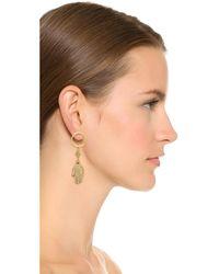 Vanessa Mooney - Metallic The Devendra Earrings - Lyst