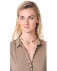 Vanessa Mooney - Metallic Celeste Choker Necklace - Lyst