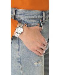 Marc Jacobs - Metallic Small Riley Watch - Lyst