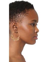 Gas Bijoux - White Grappia Earrings - Lyst