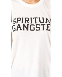 Spiritual Gangster - Multicolor Sg Varsity Muscle Tank - Lyst