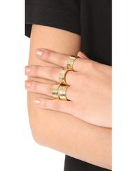 Gorjana - Metallic Evie Statement Ring Set - Lyst