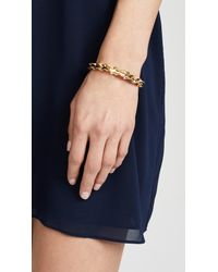 Kate Spade - Metallic Frilled To Pieces Slider Bracelet - Lyst