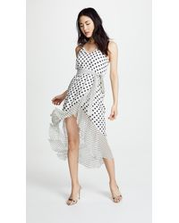 Alice + Olivia - White Mable Dress - Lyst