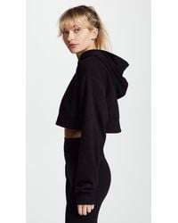 Free People - Black Movement Where I'm At Hoodie - Lyst