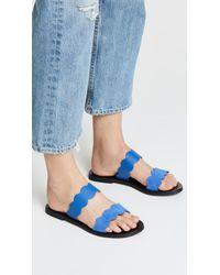 Sol Sana - Blue Wave Slide Sandals - Lyst