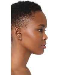 Madewell - Metallic Hand Stud Earrings - Lyst