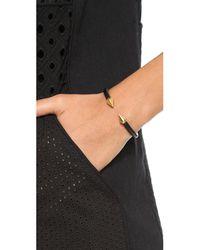 Vita Fede - Black Mini Titan Two Tone Bracelet - Lyst