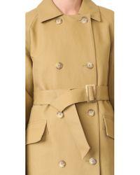 Tibi - Multicolor Trench Coat - Lyst