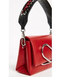 3.1 Phillip Lim - Red Alix Micro Sport Scarlet Leather Crossbody Bag - Lyst