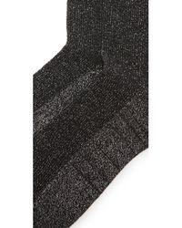 Madewell | Metallic Sheer Sparkle Trouser Socks | Lyst