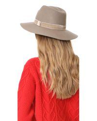 Rag & Bone - Multicolor Zoe Fedora Hat - Lyst