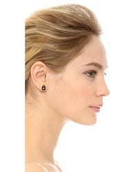 Marc By Marc Jacobs - Black New York Tiny Stud 3 Pack Earrings - Lyst