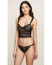 Only Hearts - Black So Fine Lace Thong - Lyst