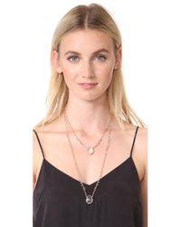 Gas Bijoux - Metallic Scapulaire Necklace - Lyst