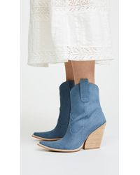 Jeffrey Campbell - Blue Homage Point Toe Boots - Lyst