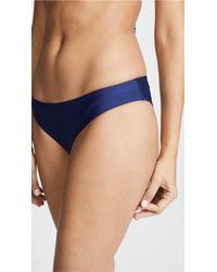 Splendid - Blue Art Deco Retro Bikini Bottom - Lyst