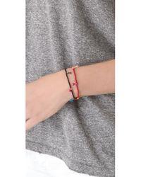 Shashi - Red Lilu Seed Bracelet - Turquoise - Lyst