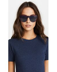 Quay - Multicolor If Only Sunglasses - Lyst