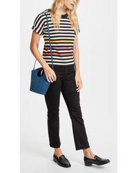 Elizabeth and James - Blue Market Shopper Petit Tote Bag - Lyst